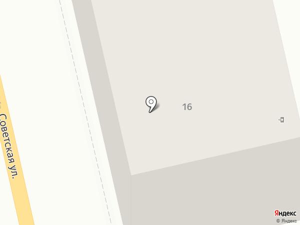 Афина на карте Петропавловска-Камчатского
