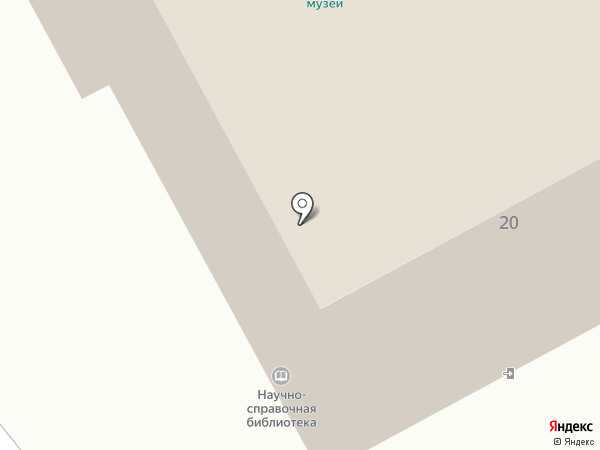 Камчатский краевой объединённый музей на карте Петропавловска-Камчатского