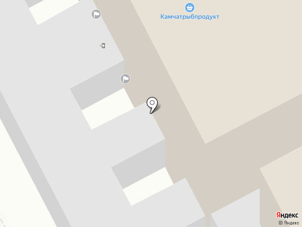 Камчатская краевая организация профсоюза работников связи России на карте Петропавловска-Камчатского