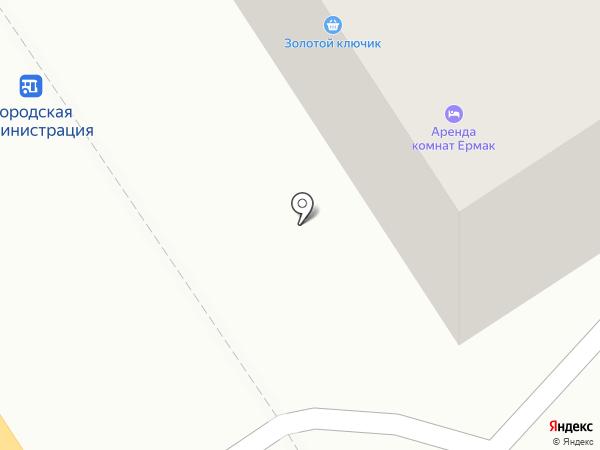 Золотой ключик на карте Петропавловска-Камчатского
