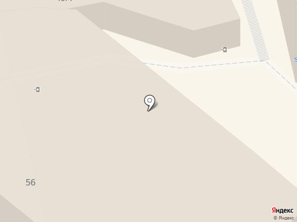 Трюфелька на карте Петропавловска-Камчатского