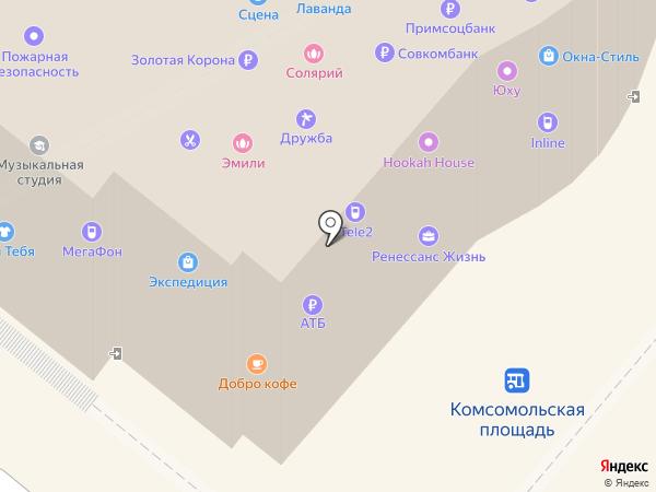 MAX & MAX на карте Петропавловска-Камчатского