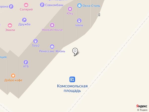 Банкомат, Дальневосточный банк, ПАО на карте Петропавловска-Камчатского