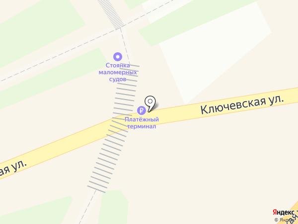 Подковка на карте Петропавловска-Камчатского
