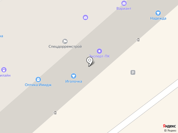 Буратино на карте Петропавловска-Камчатского