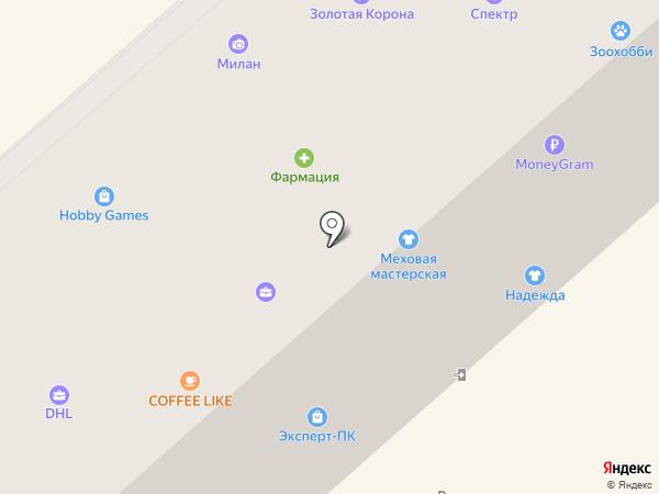 Гастроном №1 на карте Петропавловска-Камчатского