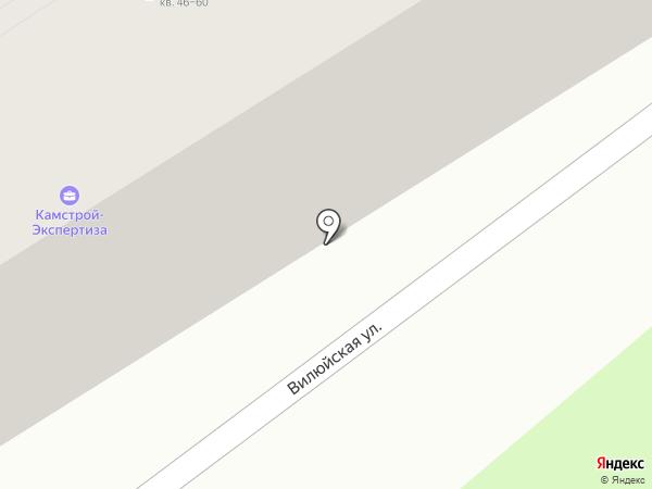 Ассоциация председателей советов многоквартирных домов на карте Петропавловска-Камчатского
