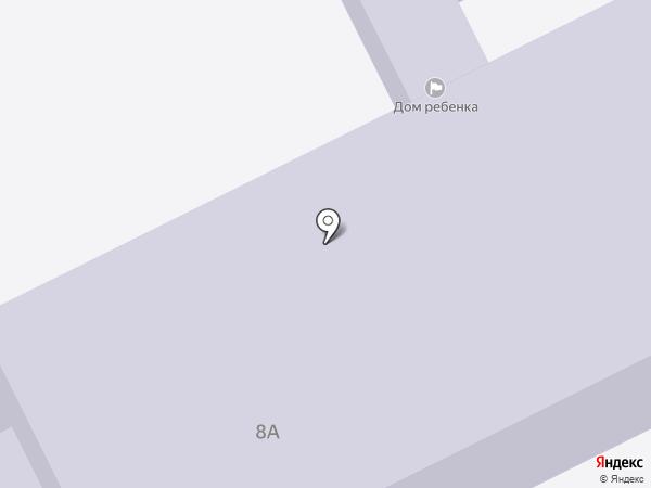 Петропавловск-Камчатский городской дом ребёнка на карте Петропавловска-Камчатского