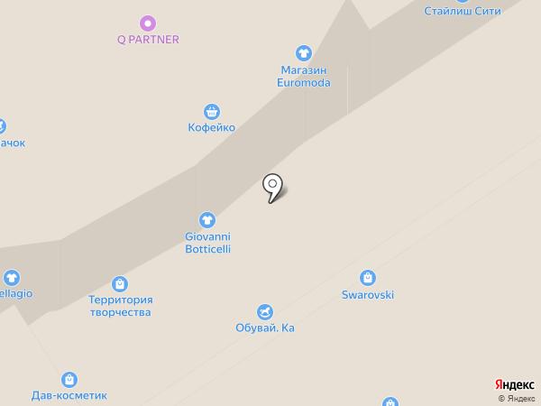 Галерея золота на карте Петропавловска-Камчатского