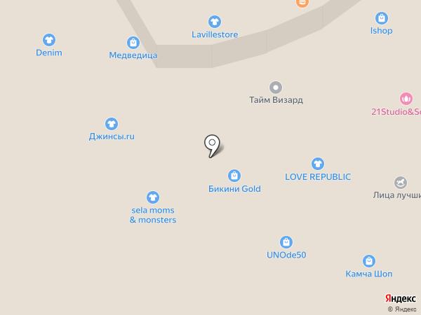 Intersport на карте Петропавловска-Камчатского