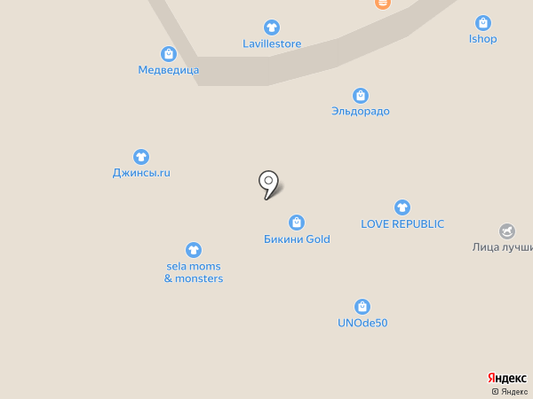 Laville store на карте Петропавловска-Камчатского