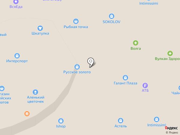 Территория творчества на карте Петропавловска-Камчатского