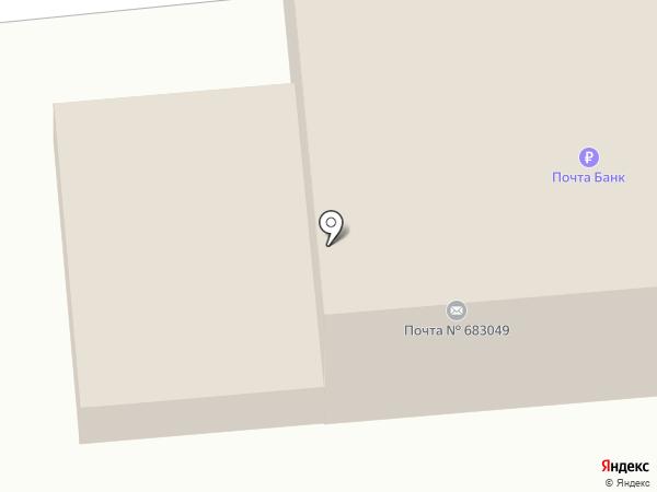 Почтовое отделение №49 на карте Петропавловска-Камчатского