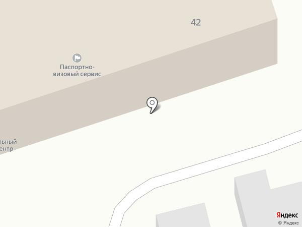 Центр технического обслуживания на карте Петропавловска-Камчатского
