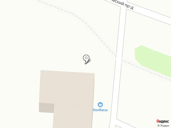 Магазин мясопродуктов на карте Петропавловска-Камчатского