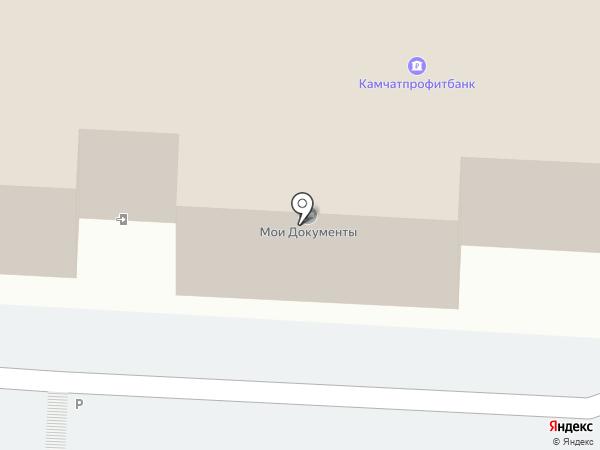 Многофункциональный центр предоставления государственных и муниципальных услуг в Камчатском крае на карте Петропавловска-Камчатского
