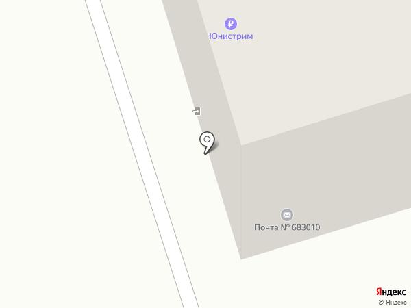Почтовое отделение №10 на карте Петропавловска-Камчатского