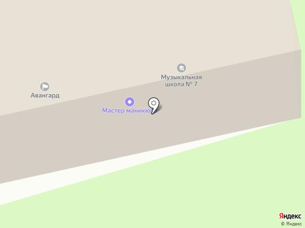 Олюторская на карте Петропавловска-Камчатского