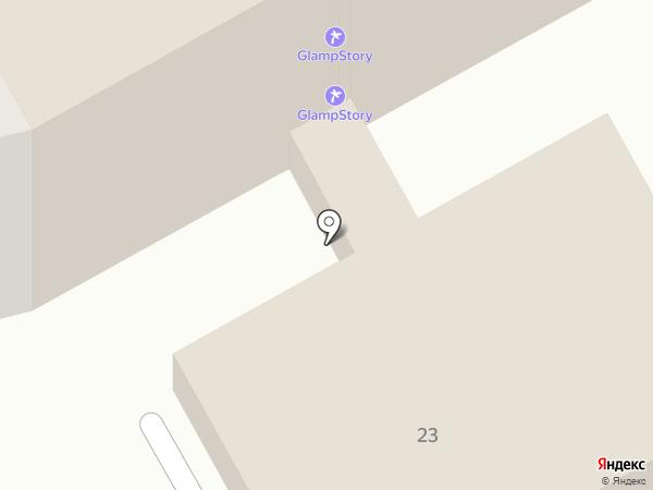 Гарант ДВ на карте Петропавловска-Камчатского