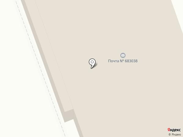 Почтовое отделение №38 на карте Петропавловска-Камчатского