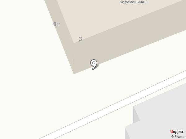 Универсал на карте Петропавловска-Камчатского
