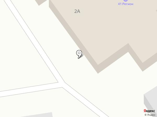 Камчатскстройматериалы на карте Петропавловска-Камчатского