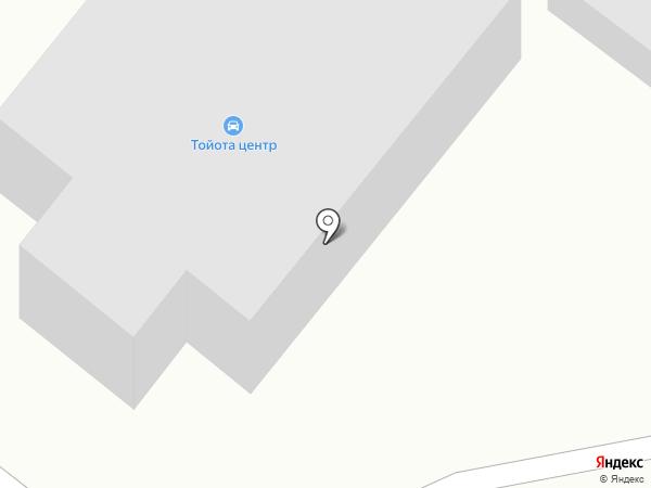 Тойота центр Петропавловск-Камчатский на карте Петропавловска-Камчатского