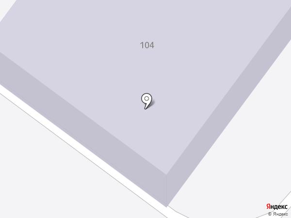Детский сад №1, Брусничка на карте Петропавловска-Камчатского