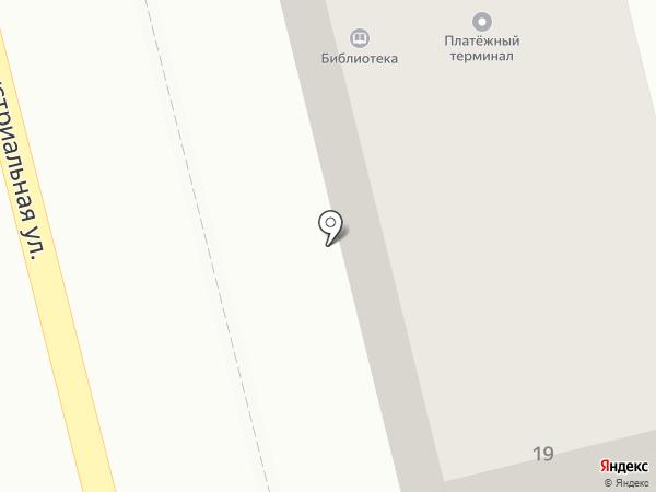 Автомотор на карте Петропавловска-Камчатского