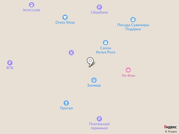 Каприз на карте Балтийска