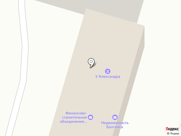Фриком на карте Балтийска