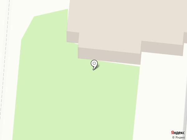 Галера на карте Янтарного
