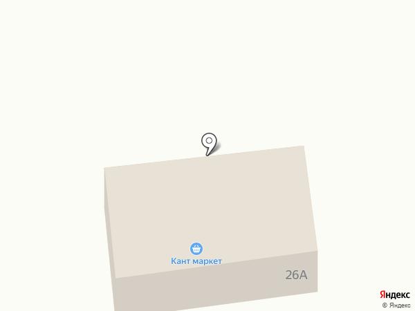 Рус.алка на карте Янтарного