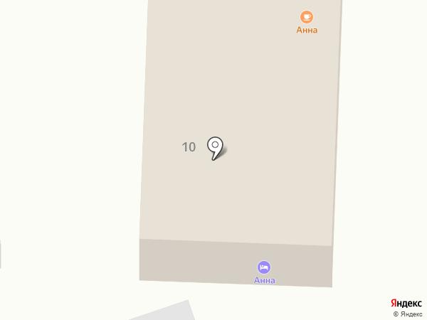 Анна на карте Янтарного