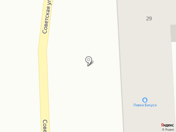 Beerлога на карте Янтарного