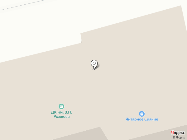 Елена на карте Янтарного