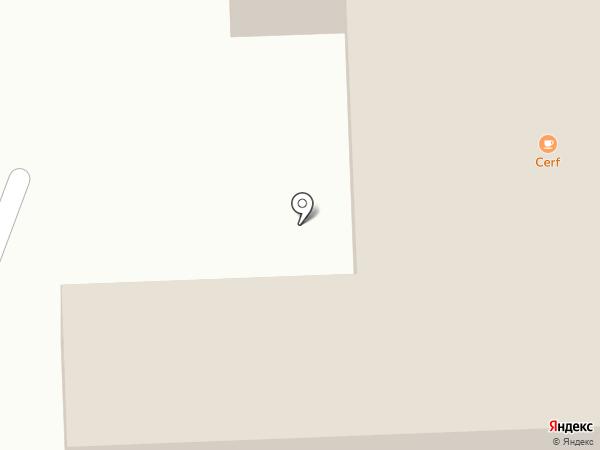 Беккер на карте Янтарного