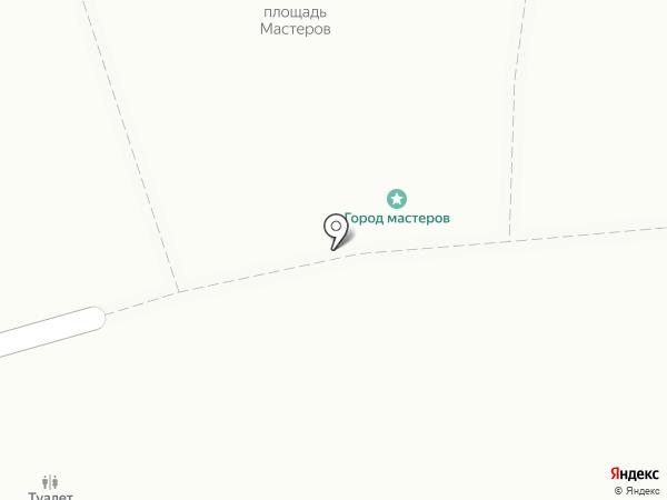 Город мастеров на карте Янтарного