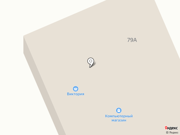 Оля на карте Янтарного