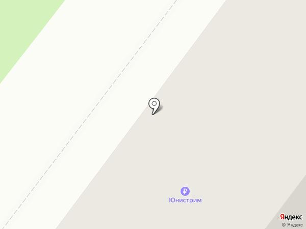 Почтовое отделение №1 на карте Янтарного