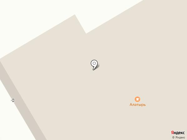 Алатырь на карте Янтарного