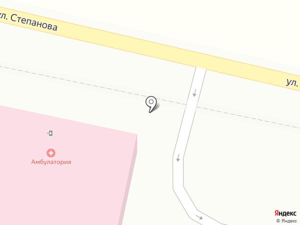 Врачебная амбулатория на карте Донского