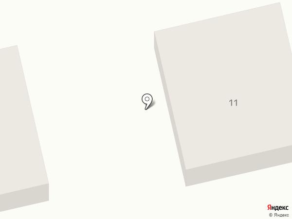 Дриада на карте Приморья