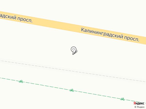 Магазин овощей и фруктов на карте Светлогорска