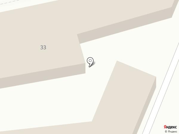 Автостоянка на Советской на карте Светлого