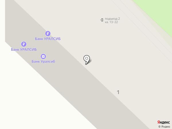 Банкомат, Банк УРАЛСИБ на карте Светлого