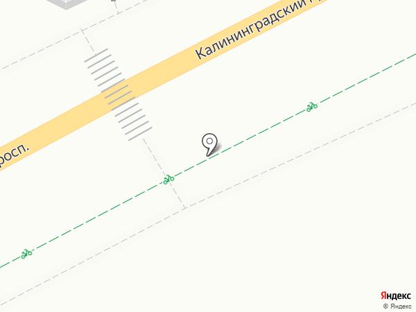 Автостоянка на карте Светлогорска