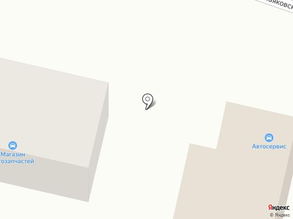 Магазин автозапчастей на карте Светлого