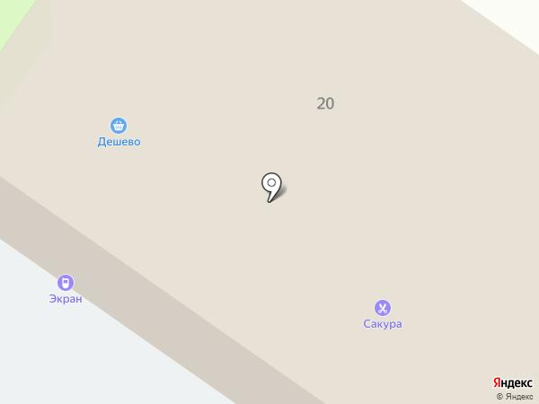 Сакура на карте Светлого