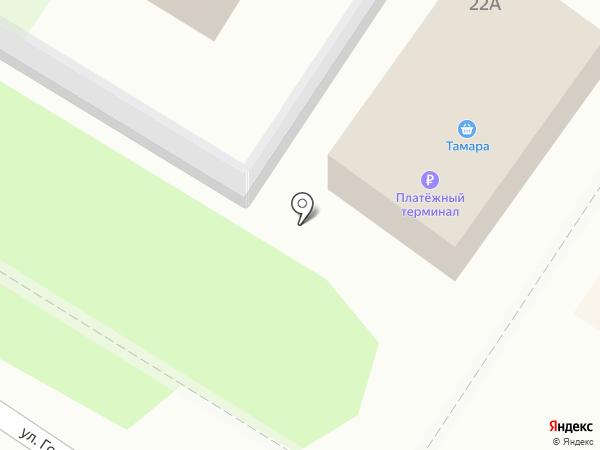 Тамара на карте Светлого